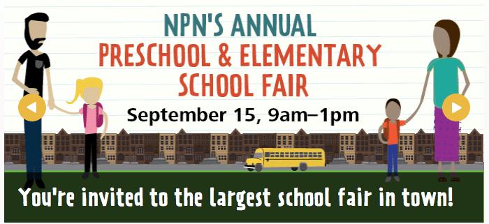 NPN annual preschool & elementary school fair