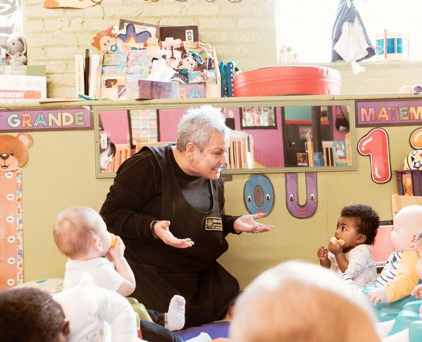 infant Spanish immersion program
