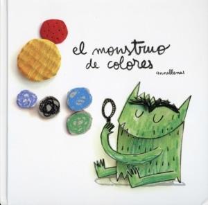 el monstruo de colores book