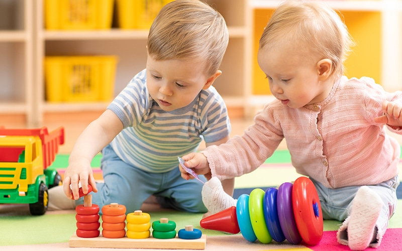 infant daycare learning