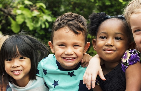 hwo to talk to children about racism early