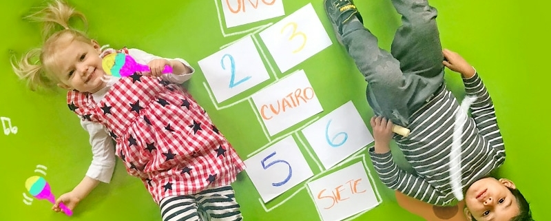 toddlers learning Spanish