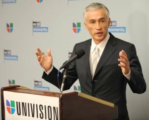 Mexican-American journalist Jorge Ramos Hispanic Heritage Month